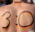 图文:德国负西班牙 国内球迷激情助威(58)