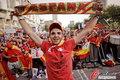 高清:西班牙1-0击败德国 国内球迷激情助威