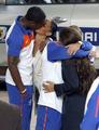 图文:荷兰队太太团一路同行 球员与女友(1)