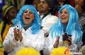 图文:德国VS乌拉圭 球迷激情助威(20)