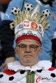 图文:德国VS乌拉圭 球迷激情助威(37)