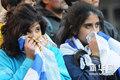 图文:乌拉圭未获季军 球迷深感惋惜(1)