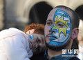 图文:乌拉圭未获季军 球迷深感惋惜(4)