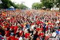 图文:荷兰VS西班牙 双方球迷激情观战(4)
