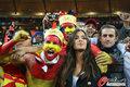 图文:荷兰0-1西班牙 卡西女友专心工作(14)