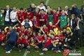 图文:西班牙夺大力神杯 球员激情庆祝(250)
