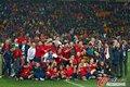 图文:西班牙夺大力神杯 球员激情庆祝(252)