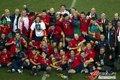 图文:西班牙夺大力神杯 球员激情庆祝(268)