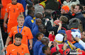 图文:西班牙夺大力神杯 球员激情庆祝(277)