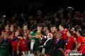 图文:西班牙夺大力神杯 球员激情庆祝(284)