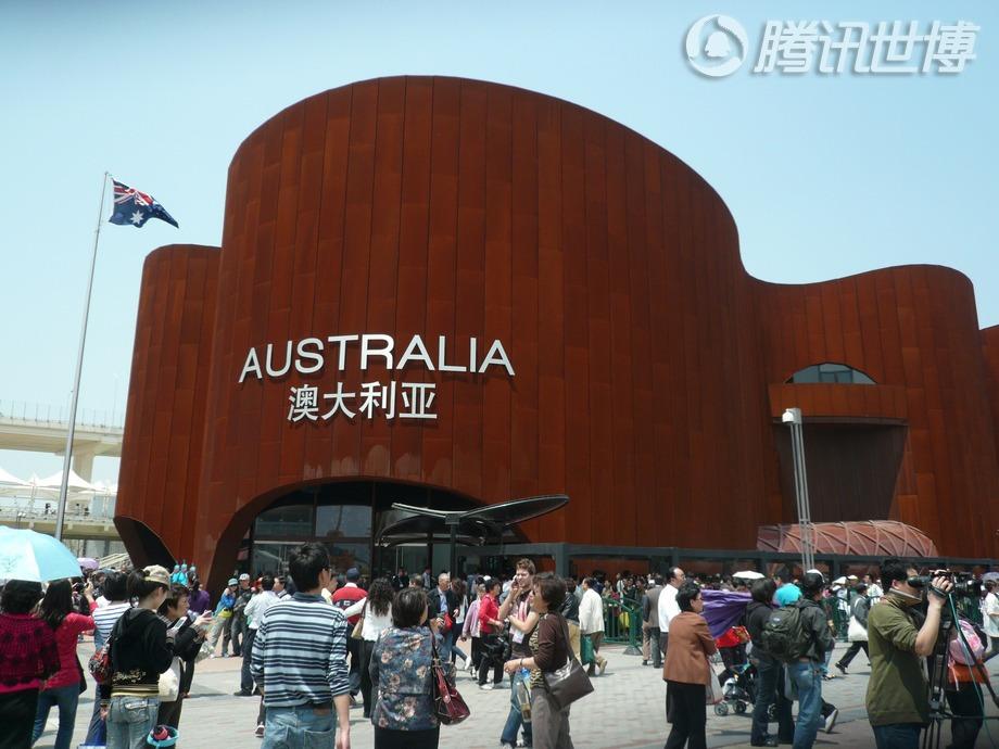 澳大利亚:大部分人口都居住在海岸线附近。