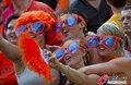 高清:荷兰0-1西班牙 双方球迷激情观战