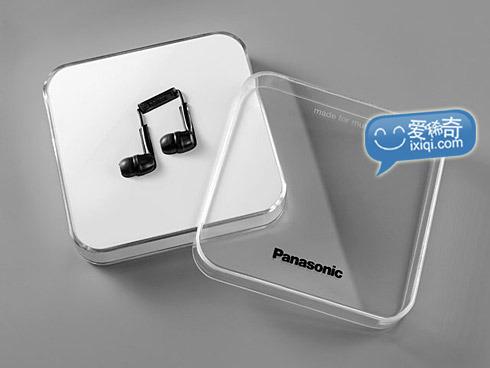 跳动在耳边的音符~松下耳机创意包装