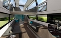 高清:英国展示未来高速列车 内部似豪华公寓