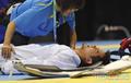 跆拳道世界杯出意外 中华台北选手受伤被送院