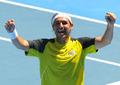 组图:巴格达蒂斯逆转费雷尔 跻身澳网32强