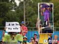 组图:澳网男观众高举标语 称被伍兹戴绿帽