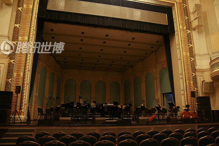 上海音乐厅内景,演出即将开始