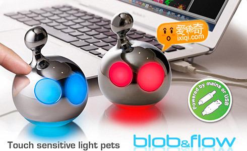Blob & Flow~红眼睛和蓝眼睛的水滴宝贝