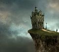 组图:梦境中最常见的画面 超现实意境插画
