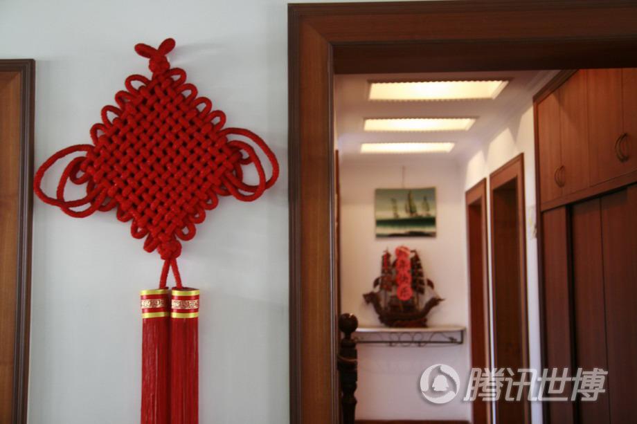 中国结,中国家庭特有的装饰