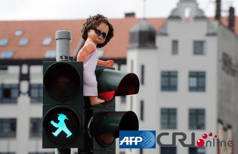 德国首都美景 昔日柏林墙今日旅游圣地