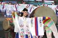 高清:韩国献舞蹈盛宴纪念中韩建交18周年