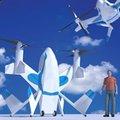 组图:美国宇航局设计出单人电动隐形飞机