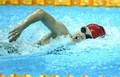 水运女子游泳激烈进行
