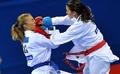 组图:空手道女子55公斤级 克罗地亚选手夺冠