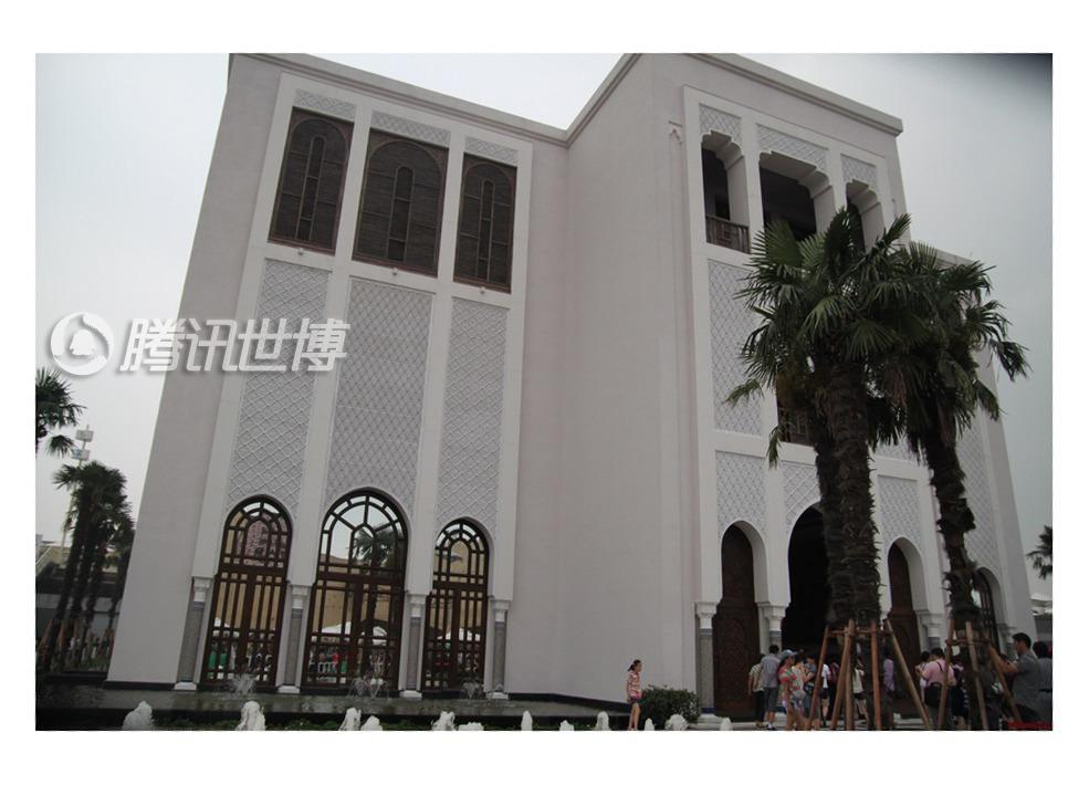 摩洛哥馆的外观