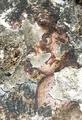 组图:科学家修复约旦2000年前古石洞壁画