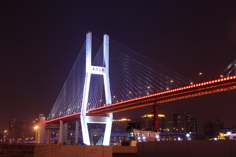 高清:票选上海新十景 网友作品:南浦大桥