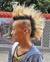 九款莫西干男生发型