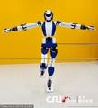 高清:日本新型类人机器人 具备人脸识别能力