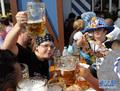 """高清:世界""""最大啤酒节""""慕尼黑啤酒节开幕"""