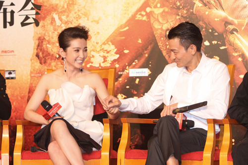 AndyLauSounds » Li Bingbing tried to seduce Andy