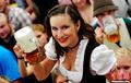 高清:德国慕尼黑啤酒节迎来200周年庆典
