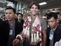 纳达尔抵泰国受热捧