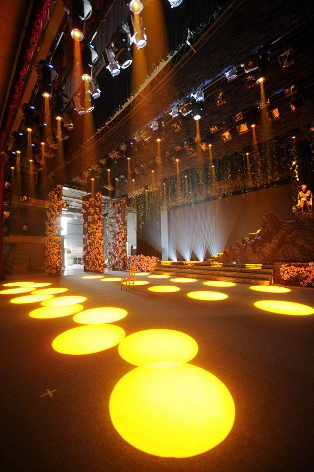 新北川艺术中心影剧院的舞台