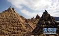 组图:舟山国际沙雕节即将开幕 展现非洲风情