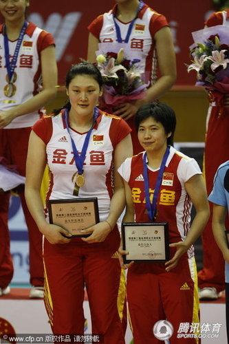 王一梅荣膺最有价值球员 拿奖很意外避谈体重