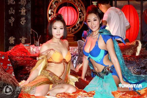 《3d肉蒲团》求逼真效果 日本女演员被真打(图)