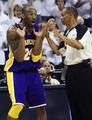 组图:NBA球星怨妇瞬间 科比最夸张马努雷人