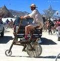 组图:骑上街头超级拉风的自行车