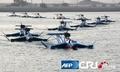 高清:伊朗公开新式飞行器 可在水中行进