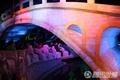 高清:桥与城市点亮中国馆 东方风情吸引游客