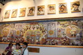 高清:西藏馆《扎西德勒图》 绘藏历新年盛况