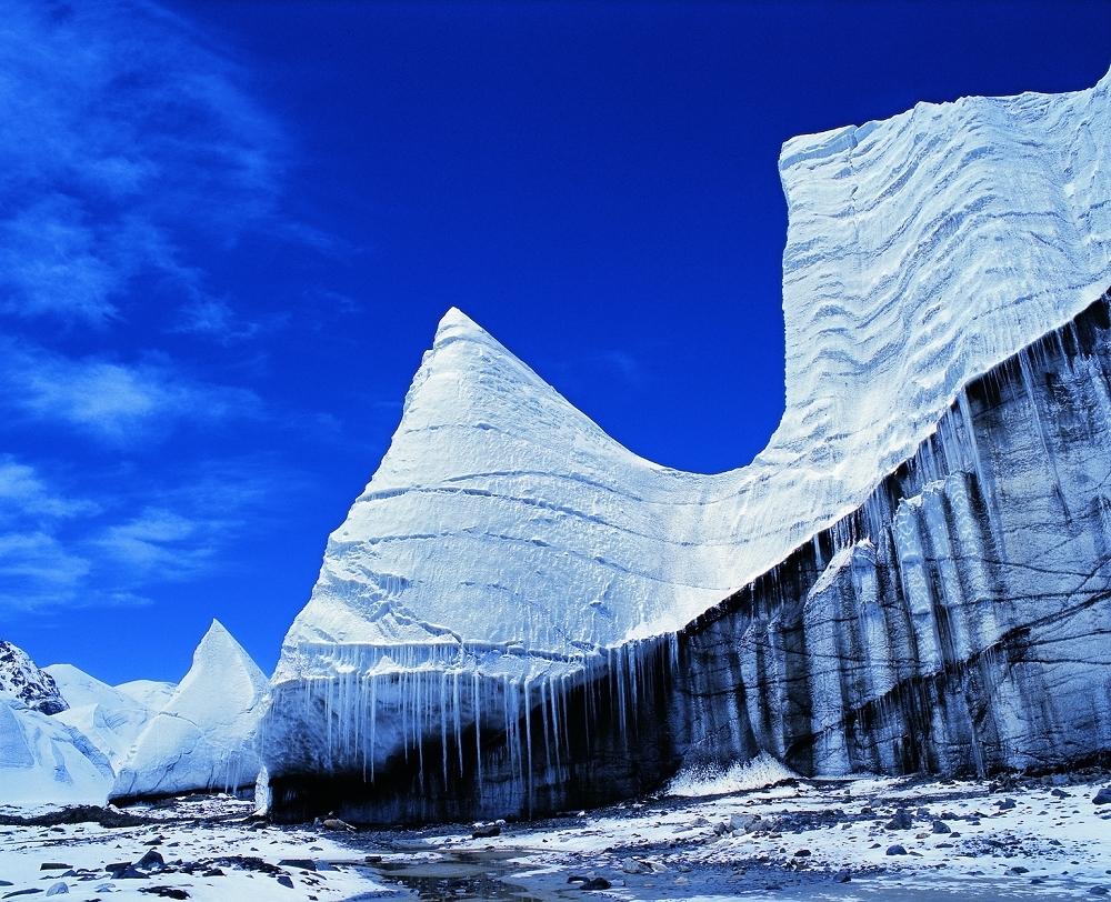 长江源冰川
