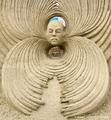 高清:美国沙雕比赛 看小沙粒打造震撼艺术